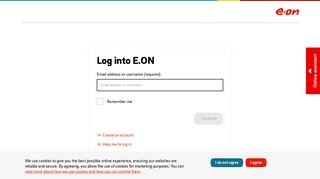 My Eon Login