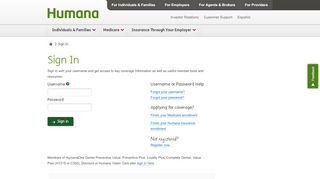 My Humana Members Login Myhumana