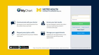 Mychart Login Metrohealth Grand Rapids