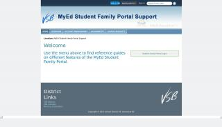 Myed Family Portal