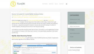 Mysql Data Recovery Portal