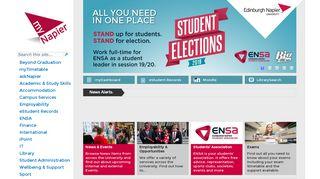 Napier Student Portal Email