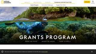 National Geographic Grants Portal