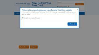 Navy Federal Visa Buxx Card Parent Login