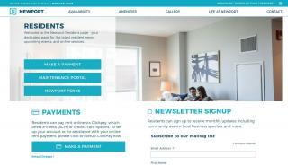 Newport Resident Portal