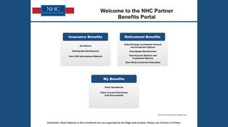 Nhc Benefits Portal