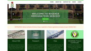Nigeria Immigration Recruitment Portal 2013