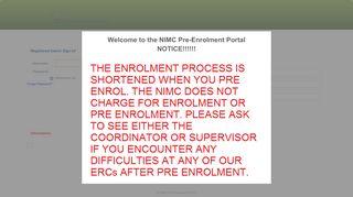 Nimc Portal Registration