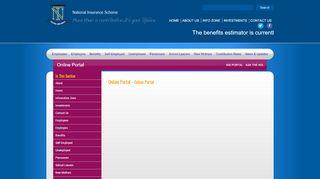 Nis Barbados Online Portal