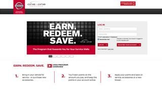 Nissan One To One Rewards Dealer Portal
