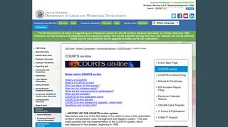 Nj Workers Compensation Courts Online Login