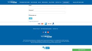 North American Bancard Portal