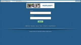 North Dakota Peoplesoft Portal