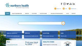 Northern Health Webmail Login