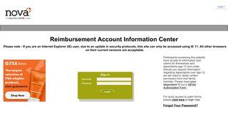 Nova Benefits Portal