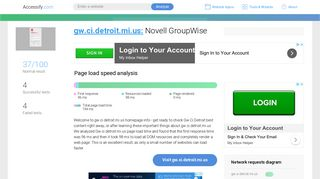 Novell Groupwise Login City Of Detroit