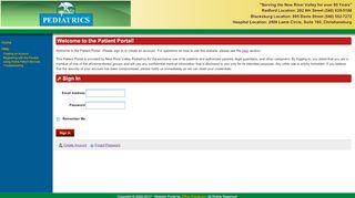 Nrv Pediatrics Patient Portal