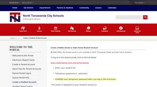 Ntms Student Portal