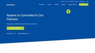 Nutanix Deal Registration Portal