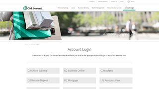 O2 Banking Login