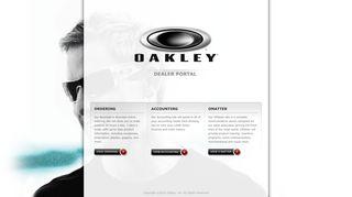 Oakley Dealer Portal
