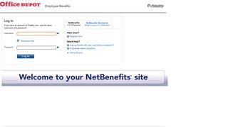 Office Depot Benefits Portal