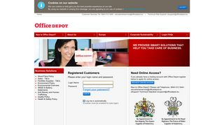 Office Depot Login Uk