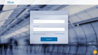 Officite Client Portal