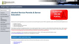 Olcc Online Portal