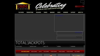 Omni Casino Login