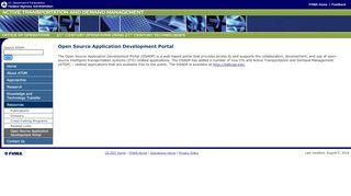 Open Source Application Development Portal