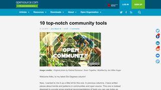 Open Source Community Portal