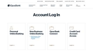 Opus Online Banking Login