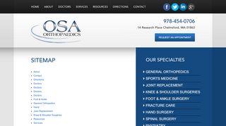 Orthopedic Associates Chelmsford Ma Patient Portal