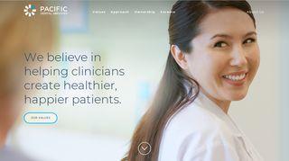Pacific Dental Services Portal
