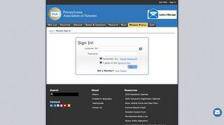 Pan Member Portal