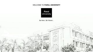 Paruluniversity Ac In Login