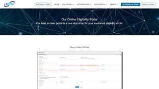 Patient Eligibility Verification Portal