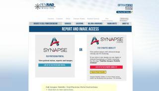 Penrad Imaging Patient Portal