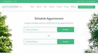 Perlman Clinic Patient Portal
