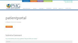 Phoenix Medical Group Patient Portal