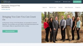 Physicians Group Of The Woodlands Patient Portal
