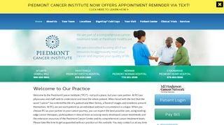 Piedmont Cancer Institute Patient Portal