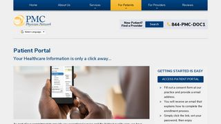 Piedmont Physician Network Patient Portal