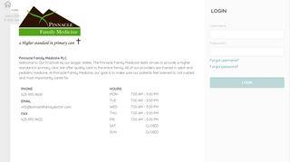 Pinnacle Family Medicine Patient Portal