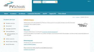 Pinnacle High School Student Portal