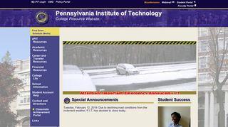 Pit Student Portal