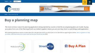 Planning Portal Maps