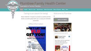 Plumtree Family Health Patient Portal
