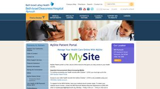 Plymouth Carver Primary Care Patient Portal